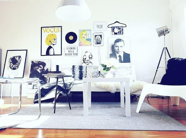 Studio near central station - Uppsala - Apartamento