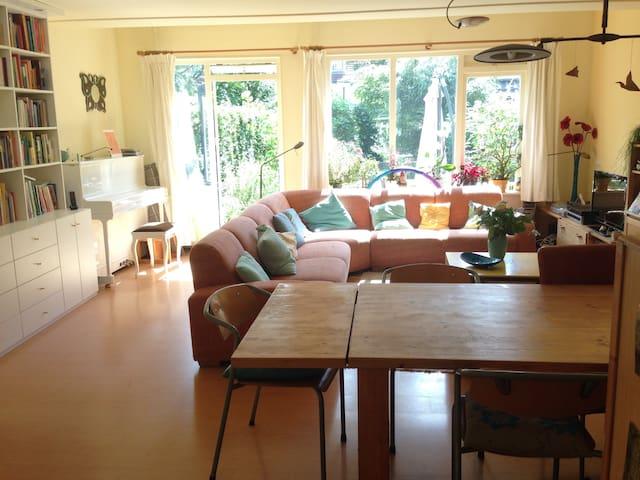 Lovely house with garden, near nature and cities - Driebergen-Rijsenburg - Casa