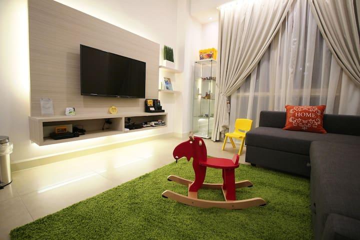 Wonderful Legoland 2 bedroom Suite for 8 pax - Nusajaya - Apartamento