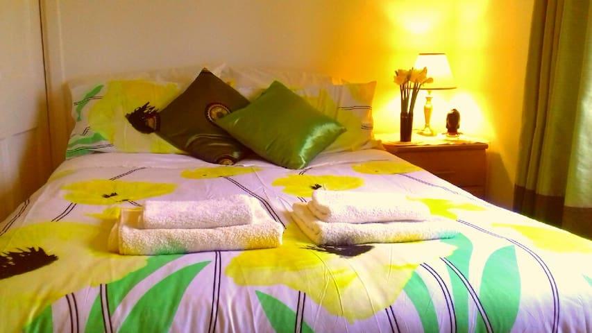 Private sunny room in Glastonbury Isle of Avalon - Glastonbury - Apartament