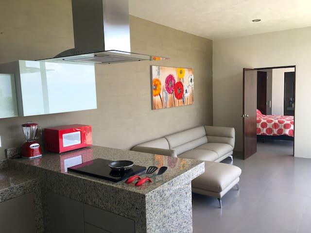 Modern Residence with Amazing Chapala Lake View - San Juan Cosalá - Hus