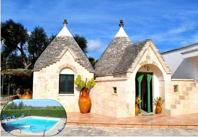 Trullo Al Monte con piscina - Ceglie Messapica - Bed & Breakfast
