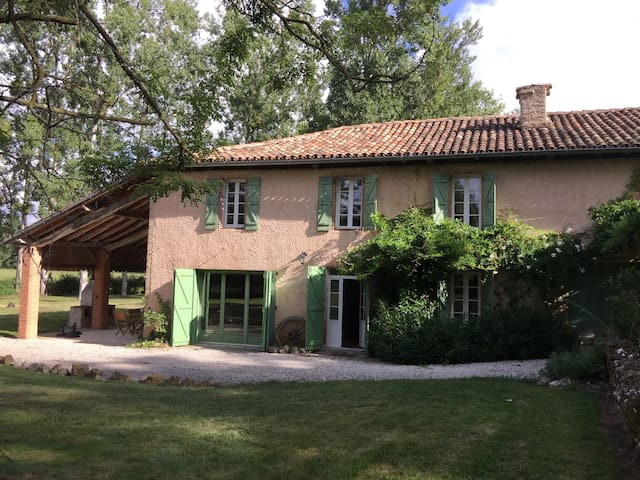 Countryside retreat with private swimming pool - Saint-Laurent - Hus