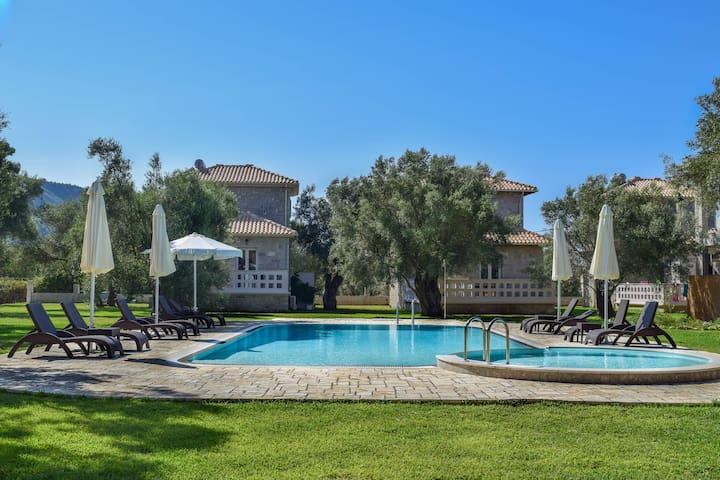 Villa Orizontas, Olive Stone Villas - Lefkada - Daire