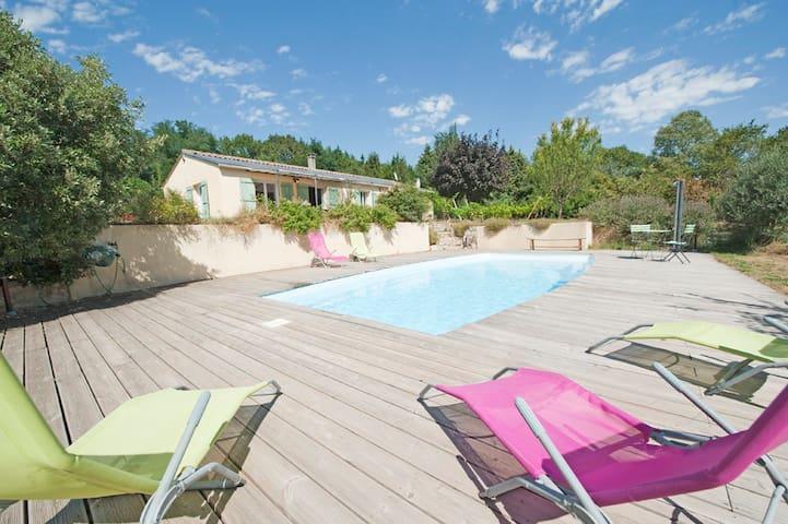 Borie Grande - Villa 4* - SPA - piscine -  WIFI - - Saint-Denis