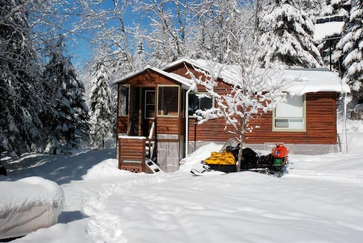 Chalet forestier d'hiver - Saint-Ambroise - Dağ Evi
