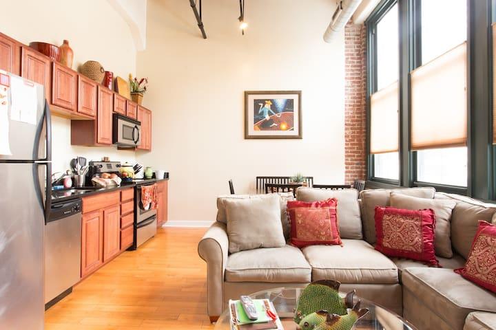 Loft Condo in a Historical Bldg - Philadelphie - Loft