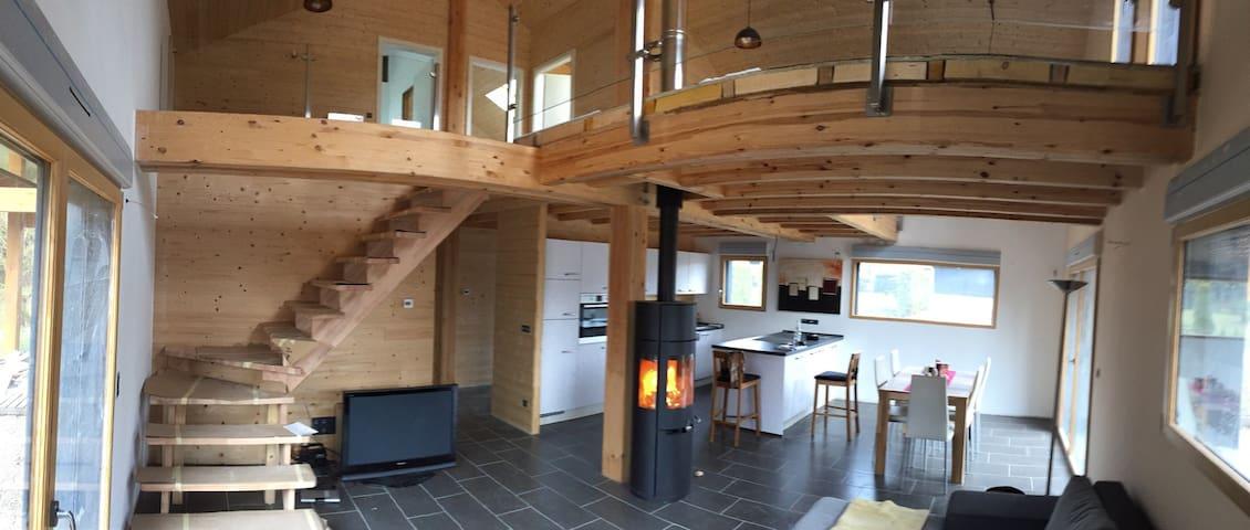 Ferienhaus nahe am See mit exklusiver Ausstattung - Langatte  - Casa