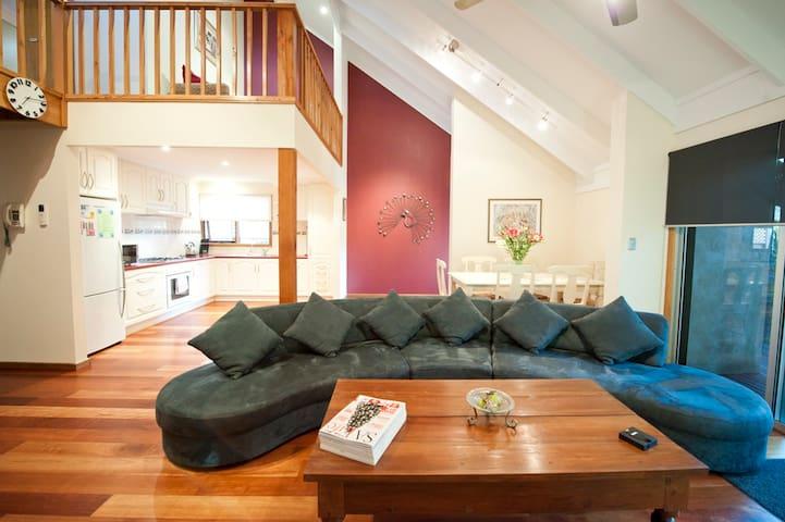 Victor Hillside Retreat - entire house - Victor Harbor - Haus