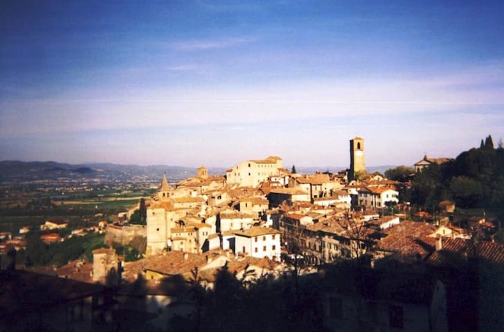 Luxury flat in medieval Tuscany - Anghiari - Appartement
