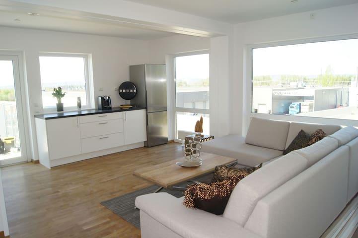 Beautiful brand new 6 bedroom apart - Jessheim - Departamento