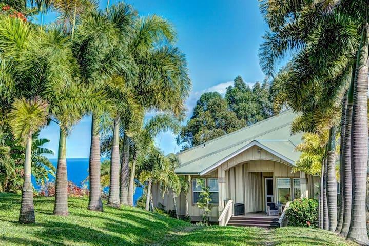 Hale Luana, large lovely plantation house; perfect for couples or family reunion - Honokaa - Talo
