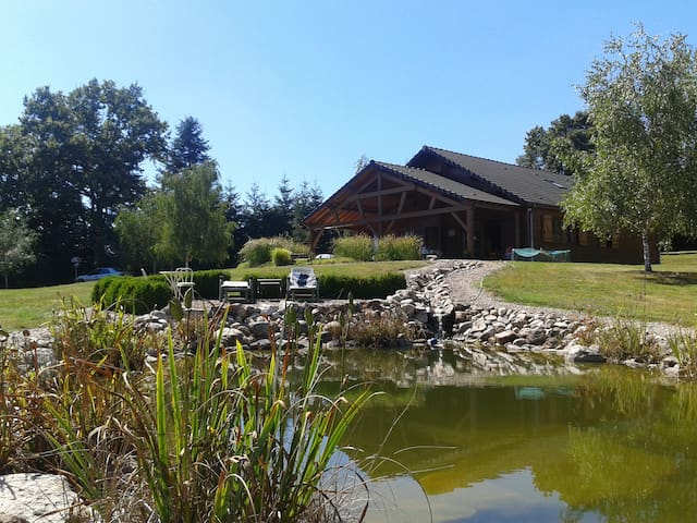 CHALET IN PEACE NEAR THERMAL CITY AND PARK LE PAL - Bourbon-Lancy - Dom