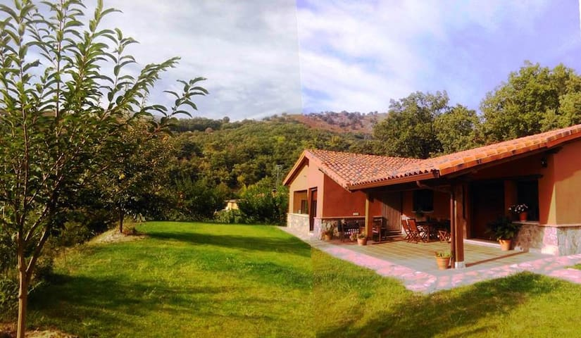 Country house in the Mountain. Gredos 10 pax. - Candeleda