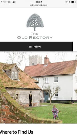 The Old Rectory - Campsea Ashe - Bed & Breakfast