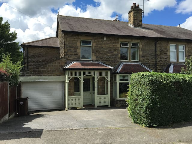 Saltaire world heritage site 4 bed family house - Shipley - Huis