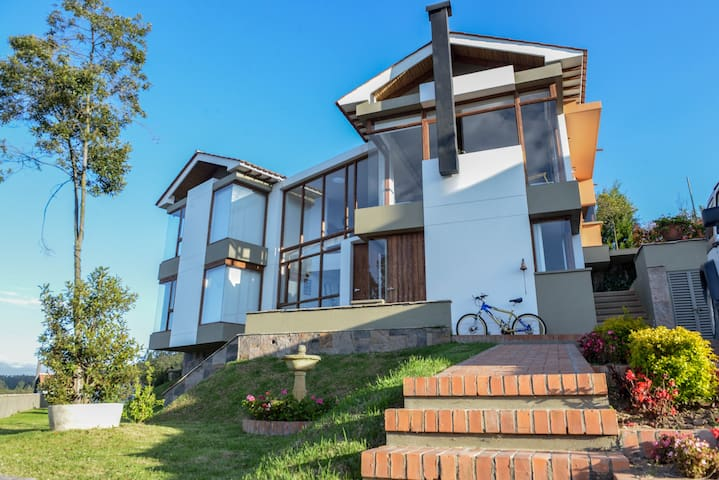 Suite Conjunto Loma Tibia Casas de Campo/Casa No 9 - Paipa - Natur-Lodge