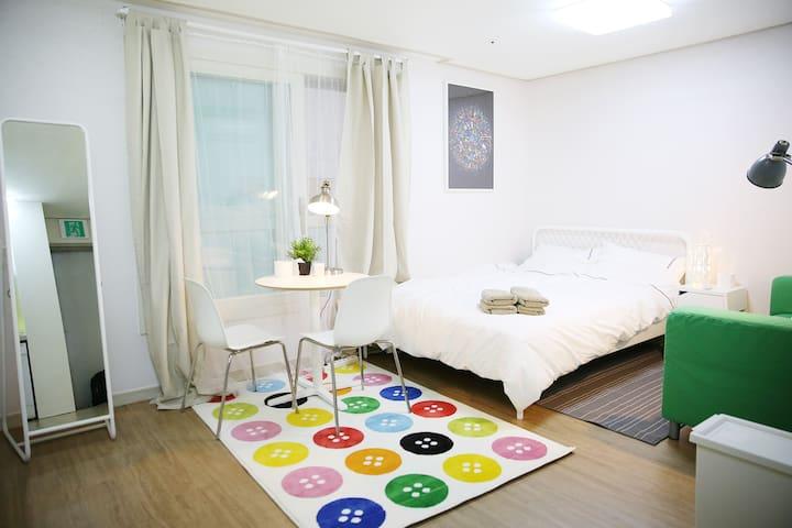 [Renew] Viator's Minimal Hotel OT#605, Very Cute! - Gangseo - Byt