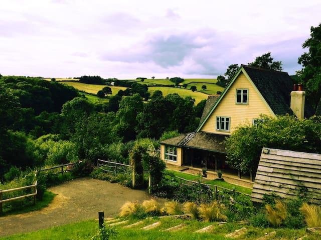 Hillside, 6 bedroom, Edwardian hunting lodge - Devon - 獨棟