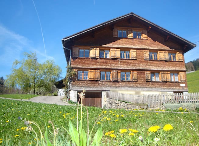 Ferienwohnung 'Alpenblick' - Schwarzenberg - Casa