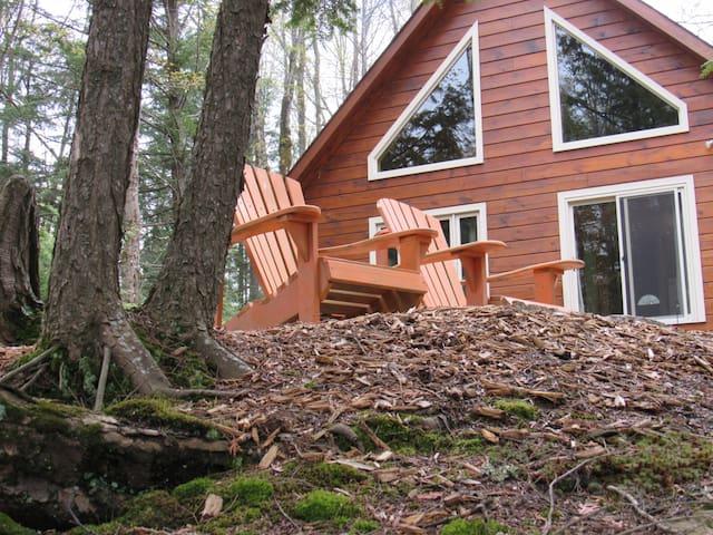 Lakefront Log Cabin Cottage Retreat - North Kawartha - Zomerhuis/Cottage