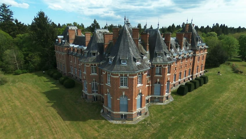 Wonderful appartement in French Chateau - Salbris - Şato