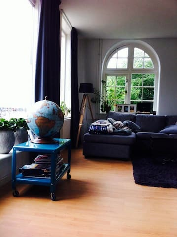 Apartment in old libary with garden - Utrecht - Villa