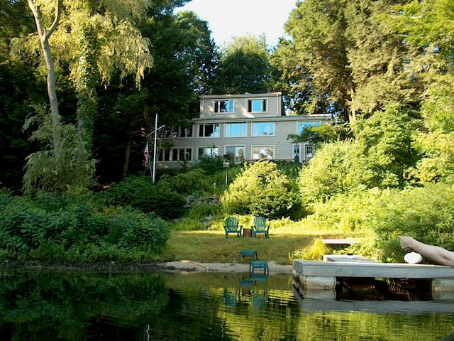 House on Pond in Wayland/Metrowest - Wayland - Casa