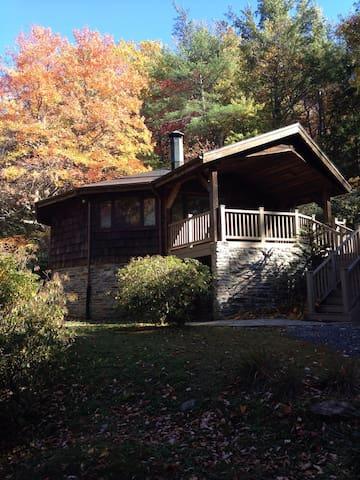 Classic Cabin steps from The Gorge! - Jonas ridge - Casa
