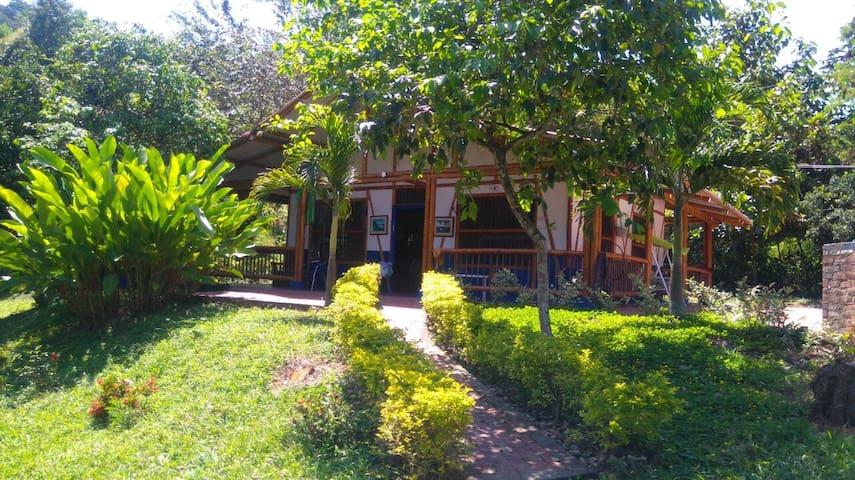 Hermosa casa campesina - Μπογκοτά - Οικολογικό κατάλυμα