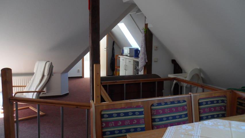 Apartment unterm Dach - Wismar - Daire