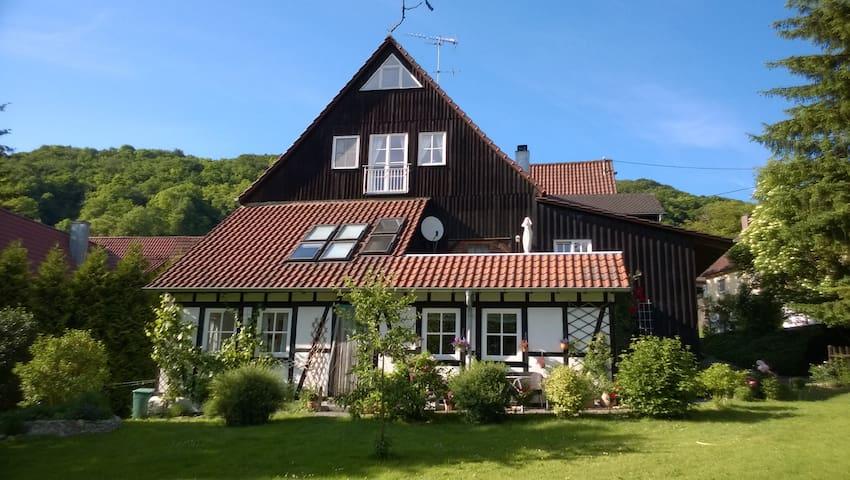 Herrlicher Blick aufs Bühlertal - Wolpertshausen - Apartament