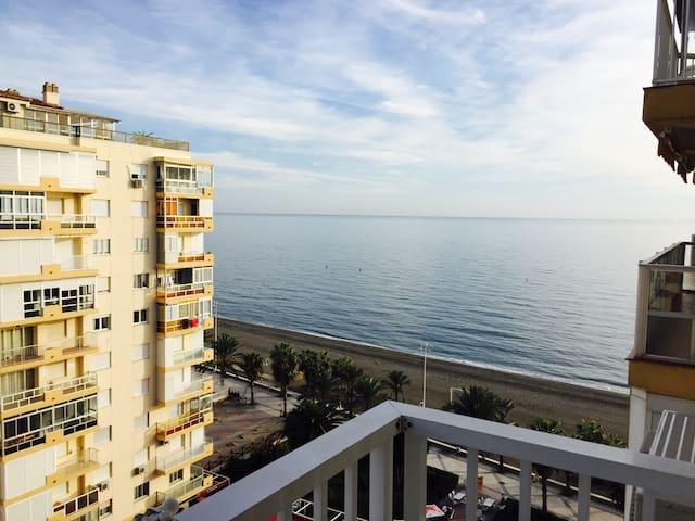 Apartamento en primera linea de playa, Beach, sun - Algarrobo - Departamento