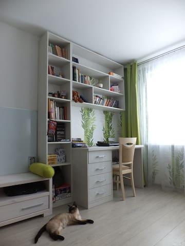 1к возле Минска со всем / 1r. app. close to Minsk - Liasny - Wohnung