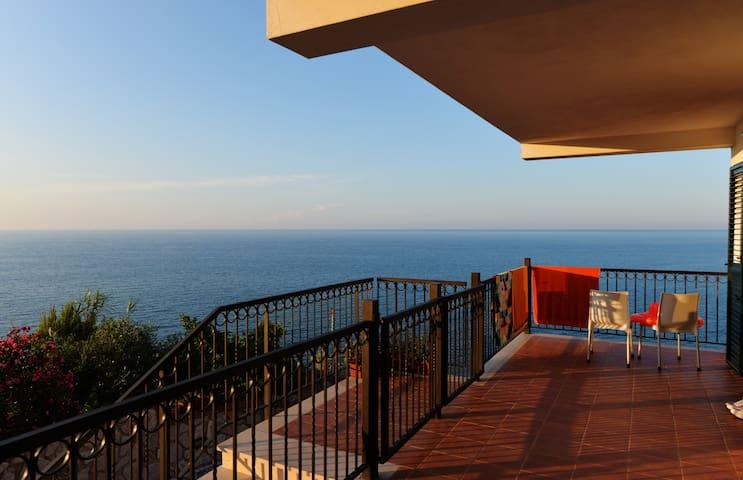 bilocale con vista panoramica mare - Peschici - Leilighet