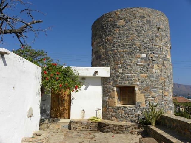 Windmill house by the sea - Elounda - Villa