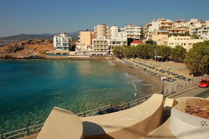 nice at 80m.from this awarded beach - Agios Nikolaos - Appartement