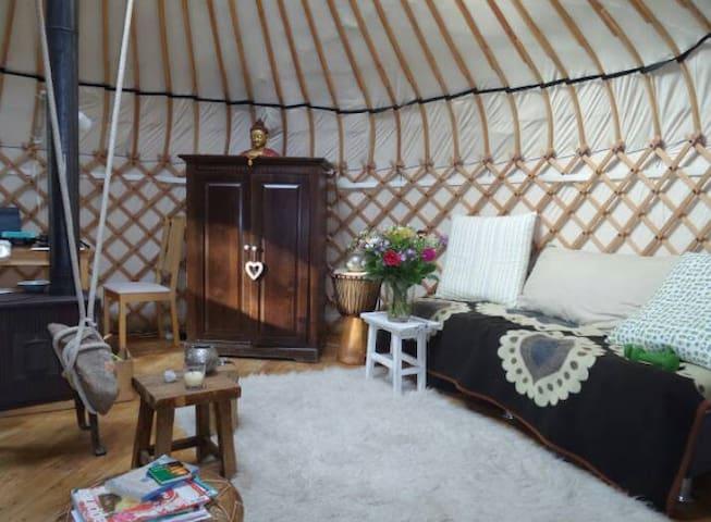 Authentieke Yurt, in de natuur   Aanbevolen! - Laag-Soeren - Yurt
