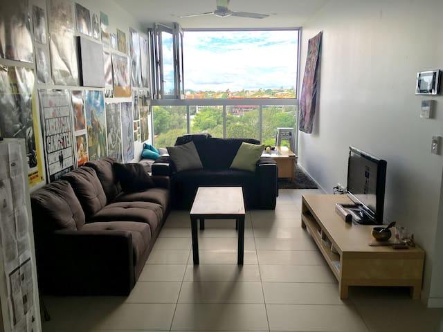 Modern One Bedroom Apartment - Central Brisbane - South Brisbane - Lägenhet
