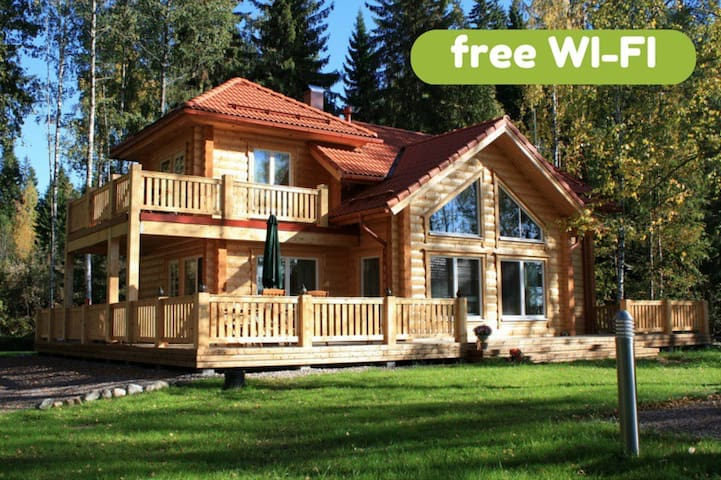Villa Aleksi - superb lakeshore villa with jacuzzi - Hollola - Villa