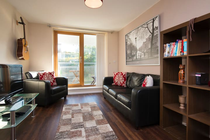Cosy modern riverside apartment - Gateshead