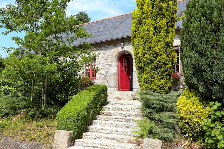 Maison mitoyenne campagne - Plouégat-Moysan - Casa
