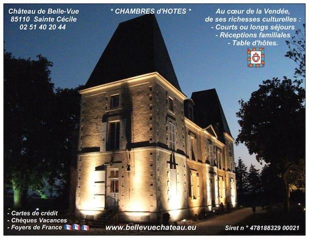 Puy du Fou, Appartement au château - Sainte-Cécile