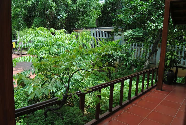 Deluxe Double Bungalow - Garden View - Bai Dinh Pagoda  - Lägenhet