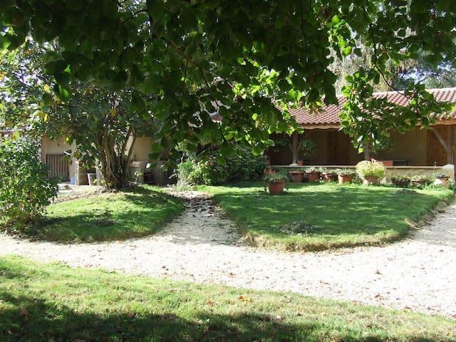 ch. d'hôtes conviviale, près de Marciac (7km) duo - Marciac
