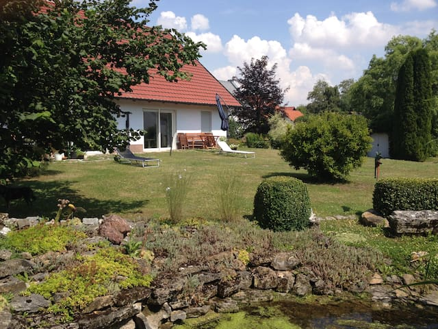 Ferienhaus Ringelwiese - Schönstedt - House
