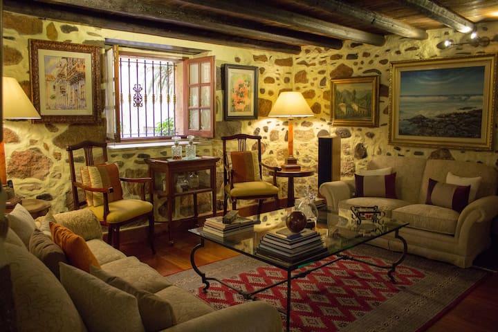 Casa El Maestrillo, en centro histórico Teror - Teror - Hus