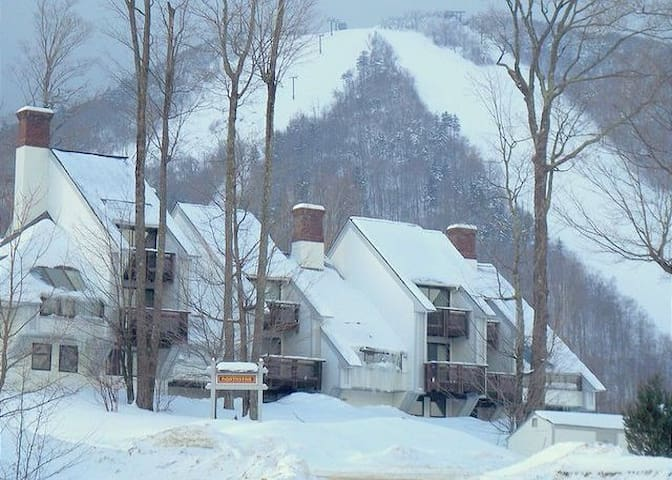 Luxury Trailside Condo - Ski In Ski Out - Killington - Appartement en résidence