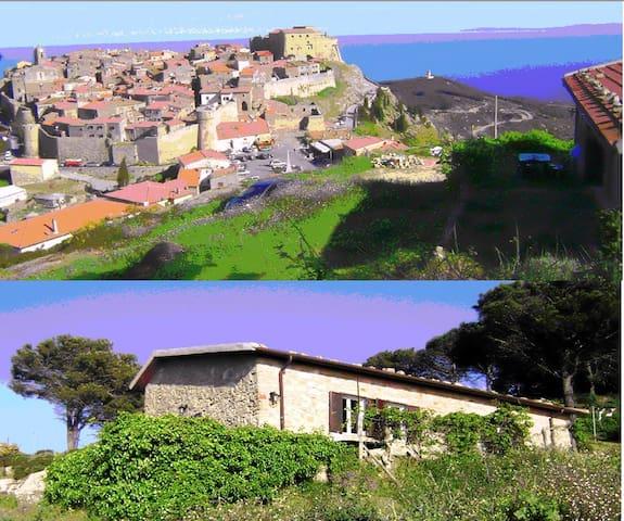 Dimora dell'aquila-Home of the Eagles - Giglio Castello - Villa
