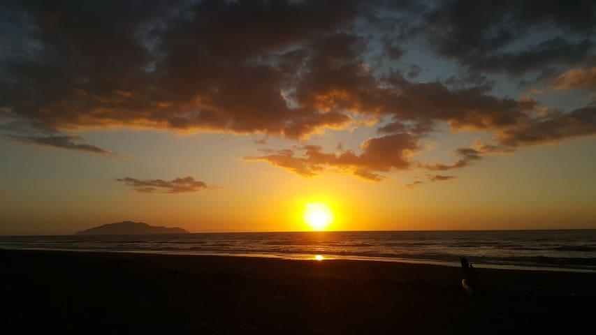 Beautiful Otaki Beach Peaceful Stay - Otaki Beach - Maison